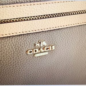 COACH TYLER TOTE IN COLORBLOCK LEATHER